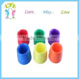 High quality children pp plastic painting paint mixing cup