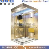2015 New Product XIWEI 1250kg Gearless Villa Passenger Lift