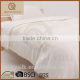 2015 China hot sale luxury 100%mulberry silk duvet