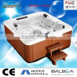 Factory Family JOYSPA Promotional JY8012 outdoor spa used massage hot tub with sex video sex hot tub massage spa inflatable spa