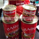 Bright Red Color 28-30% Brix Bulk Canned Tomato Paste