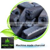 Fixed carbon more then 85% machine made barbecue charcoal