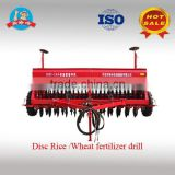 Chinese Manufacturer of Disc Wheat Seeder/Planter, Rice Planter/Seeder/Seed Drill with Fertilization for Tractor