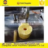 automatic industrial stainless steel pineapple peeling and coring machine +8618637188608
