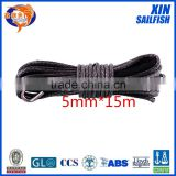 XINSAILFISH 5mm*15m synthetic winch rope for car accessaries,cable winch for offroad parts