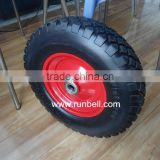 10'' Puncture Proof PU Foam Wheels for Beach Cart 260x85