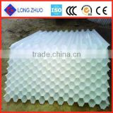 Selling high performance industrial cooling tower fill/PVC Plastic hexagon honeycomb packing