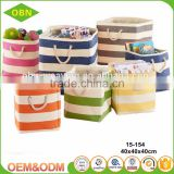 High quality custom collapsible cheap decorative storage bag paper straw storage beach basket