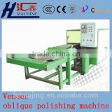 Wood oblique polishing machine / Veneer scarfing machine / woodworking veneer jointing machine