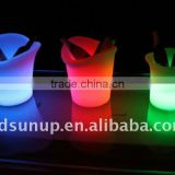 Recharge Colorful LED bar ice bucket