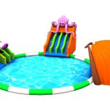 Fun Outdoor Inflatable slide Bouncy Toys