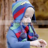 wholesale baby girls and bays fashion optional collocation hats and scarf
