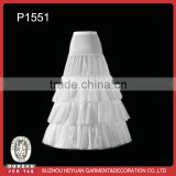 P1551 White Ball Gown Wedding Petticoat for Bridal