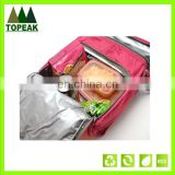 Customrized picnic bag promotion outdoor cooler bag