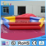 Inflatable Pool/Water Pool, Round or Square Inflatable Swimming Pool