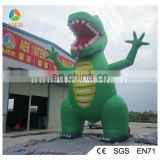 Customized inflatable dinosaur for outdoor events , giant inflatable dinosaur model
