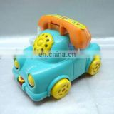 kids Plastic cartoon musical cell phone toy