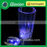 Glovion Light Up LED Flashing Bottle 3M Sticker Cup Mug coaster (Sticker it under your glass)