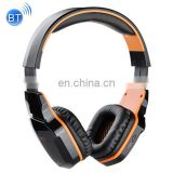 Factory Stock Cool Spider Logo Bluetooth Headphone,Wireless Game Headset Support NFC with Mic for all phones tablet computer
