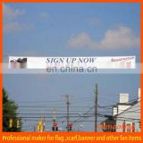 cheap advertising laminated pvc banner