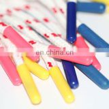 Wholesale custom plastic aglets shoe lasts/ plastic tips for drawstring