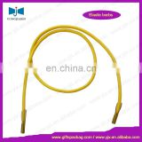 Elastic cord with plastic barbs each ends