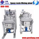 epoxy resin thin film degassing vacuum mixing and injection device