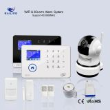 GSM GSM / WiFi WCDMA Optional Home Alarm System Standby Battery 24H Security Wireless Alarm System