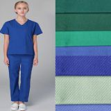 Wholesale Medical Polyester Cotton Scrub Hospital Uniform Fabric