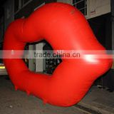 Hot Selling Giant Inflatable Lips For Decoration