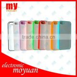 hot sale! coloful New DIY sublimation case for i Phone5,with aluminium metal plate