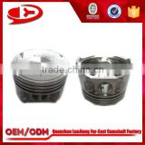 mitsubishi tractor engine parts piston for 4G13 with factory prices