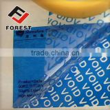 Tamper Evident void security seal Label Sticker, anti-counterfeit plastic void tamper evident label                                                                         Quality Choice
