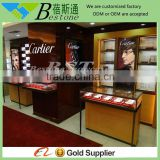 Jewelry store used luxury furniture, jewelry stainless steel showcase for sale
