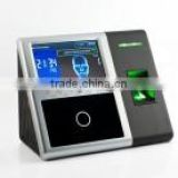 Multi-biometric identification terminal for Access control and Time attendance management Face 302