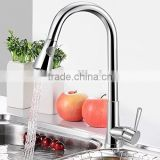 New arrival Luxury Chrome Kitchen Sink Pull Out Spray Faucet Basin Swivel Spout Mixer Tap