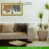DIY Counted Cross Stitch Kit Handmade Home Decor Colorful Tree Embroidery Set