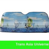 Hot Selling Logo Printed pe bubble sunshade