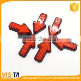 Arrow reflector /led red arrow reflector /road, guardrail or rear trailer of the vehicle reflector