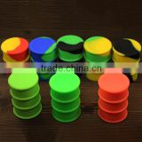 Wholesale silicone container for wax butane hash bho silicone oil drum slick silicone dab barrel