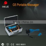 hand held g5 Portable body massage slimming machine/g5 vibrating body massager/muscle vibrator