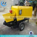 ( skype: luhengMISS) Top design diesel engine concrete mixer pump portable concrete pump