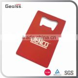 Promotional custom powder coated business credit cards beer bottle opener                                                                                                         Supplier's Choice