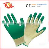 13gauge knitted white nylon shell smooth finish electrical safety gloves