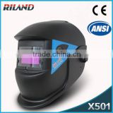 Riland TIG/MIG/ Auto-Darkening welding helmet batman welding helmet Glass single phase arc welding helmet