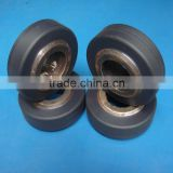 Customized wear resistance conveyor caster pa6 pulley plastic nylon roller ball bearing wheel