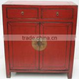 Chinese antique two drawer two door wedding cabinet                                                                         Quality Choice