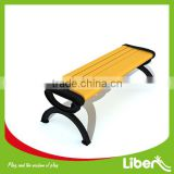 Castle Iron Outdoor Furniture Lesiure Rest Wooden Park Bench in Street LE.XX.050                                                                         Quality Choice