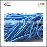 5mm polyester braided elastic cord rope for garment/bag/shoes/textile use