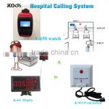 Modern Electronics Equipment Nurse Call Button System K-4-C Monitor Y-650 Watch Pager K-W1-P Calling Bell